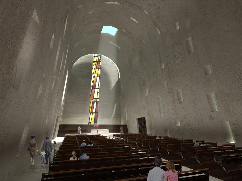 iglesia de la natividad nave